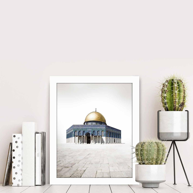 Amazon.de: LaModaHome Home Decor MDF 100% PVC gerahmt Art Wand (23 ...