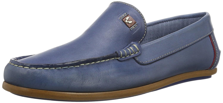 Martinelli ROMEO 366-1 366-2112YP_V14 - Mocasines de cuero para hombre, color azul, talla 45: Amazon.es: Zapatos y complementos