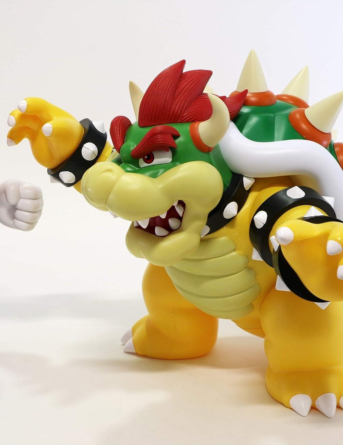 Super Mario Bros 100/% authentic Super Big 30cm Bowser PVC figure Taito
