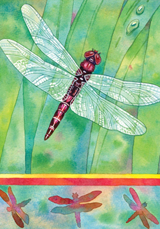 Amazon.com : Toland Home Garden Dragonfly 28 x 40 Inch Decorative ...