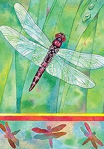 "Toland Home Garden 118235 Dragonfly 12.5 x 18 Inch Decorative, Garden Flag (12.5"" x 18"")"