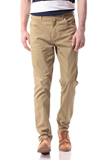 Asquith & Fox Herren Men's Slim Fit Cotton Chino Hose Not
