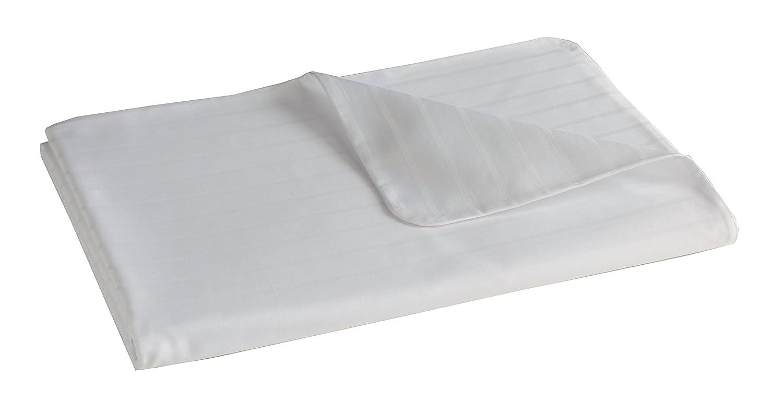 Blanc Des Vosges Divine Bettbezug Baumwolle, Baumwolle, weiß, 220 x 240 cm