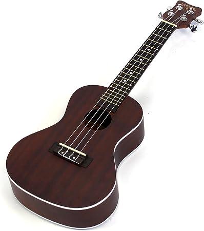 Kohala caoba ak-c Akamai guitarra ukelele de concierto + ...