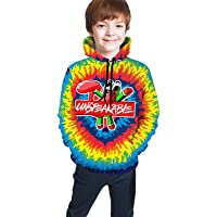 Gianna Un-Speakable Autumn and Winter Teen Boys Girls 3D Printed Hoodie Sweatshirt Pullover
