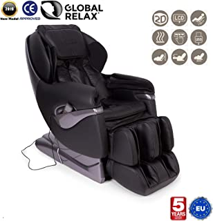 NAVIDAD -300€ l NIRVANA® Sillón de masaje 3D - Marrón ...