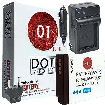 DOT-01 Batería y cargador Panasonic Lumix GX800 para cámara ...
