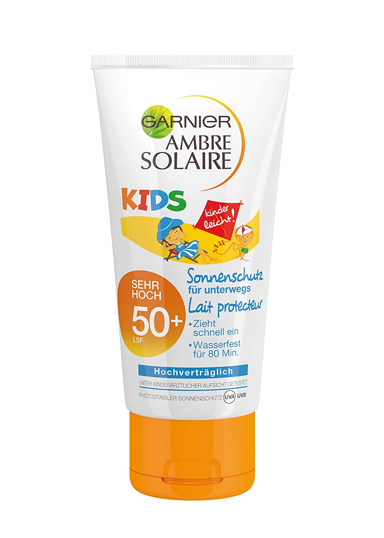 Garnier Ambre Solaire Sonnencreme Kids/Sonnenschutz-Milch, 1er Pack (1 x 50 ml) C4262315