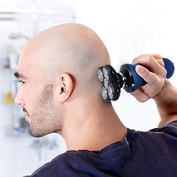 BlueFire 5 eléctrico afeitadora Afeitadora recargable encabezada ...