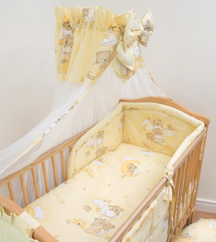 Chiffon-Baldachin fü r Babywiege/Kinderbett BabyComfort