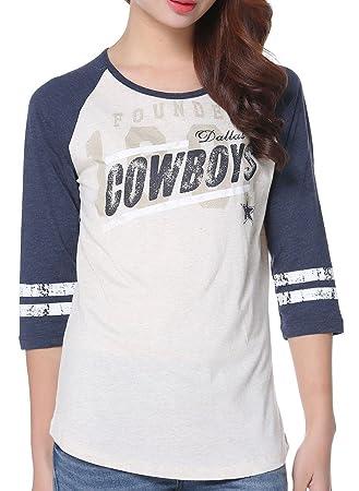Amazon.com  Womens Pink Victoria s Secret NFL Dallas Cowboys T-shirt ... 6b4ba7459