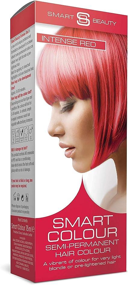 Smart Color Semi-Permanente Rojo Intenso Tinte Cabello X 3