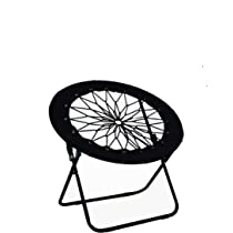 JFSG Enterprises LLC Newest Edition Bungee Cord Chair. Heavy Duty Foldable  Steel Frame Indoor And ...
