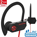 ZEUS Bluetooth Headphones Wireless - Mens Womens Running Headphones - Best Sports Wireless Earbuds Earphones - IPx7 Wireless In-ear Headphones - Sport Bluetooth Headphones for Women Men (up to 10 h)