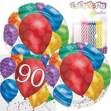 Amazon.com: Globo Blast feliz cumpleaños temática fiesta ...