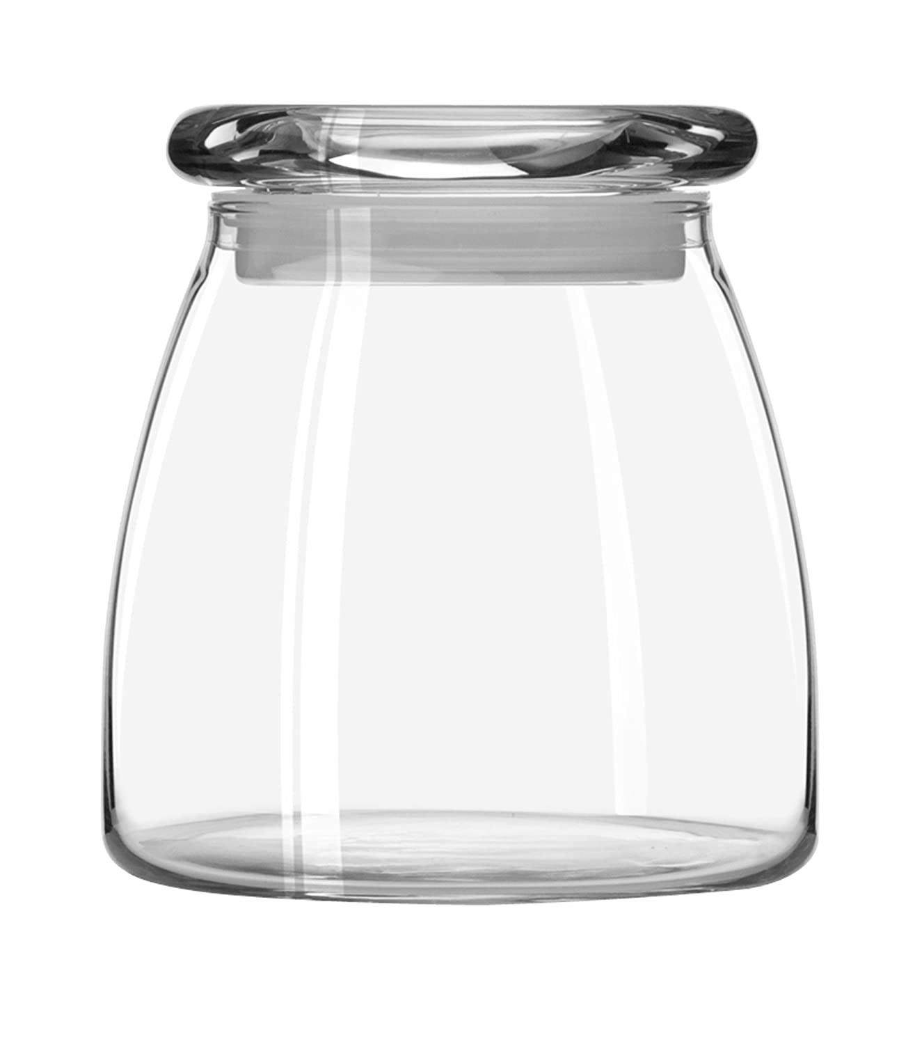 Libbey 12-1/2-Ounce Vibe Storage Jars, Set of 6 71356