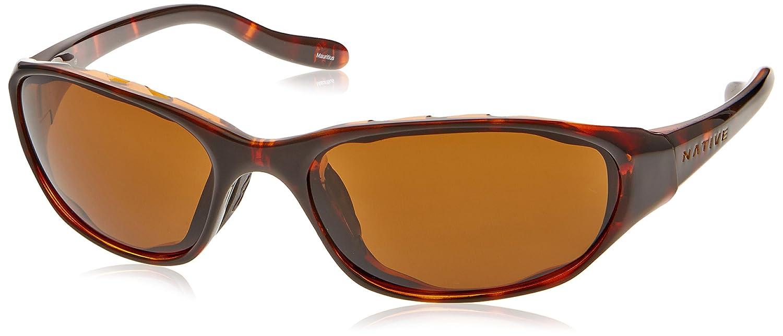 Native Eyewear Throttle Sunglasses Matte Black with Gray Lens 124 302 502 NATIVE124302502