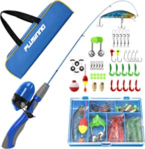 Details about  /PLUSINNO Telescopic Fishing Rod and Reel Combos Full Kit NEW as Seen On Picture