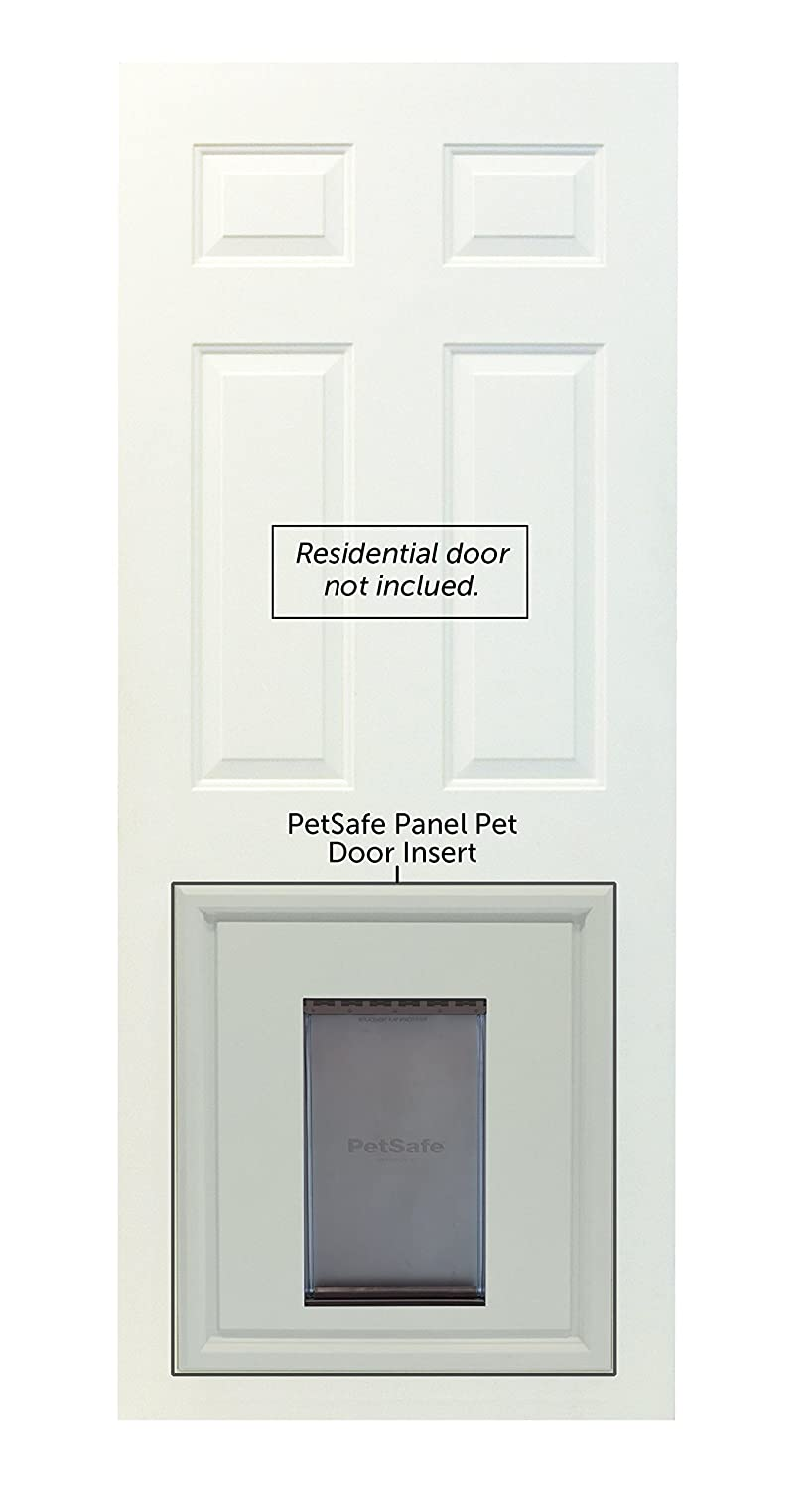 Amazon Petsafe Panel Pet Door Paintable White Large Pet Supplies