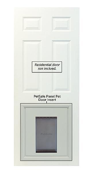 Amazon Petsafe Panel Pet Door Paintable White Large Pet Supplies