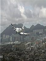 747 Hard Crosswind Landing Kai Tak Airport