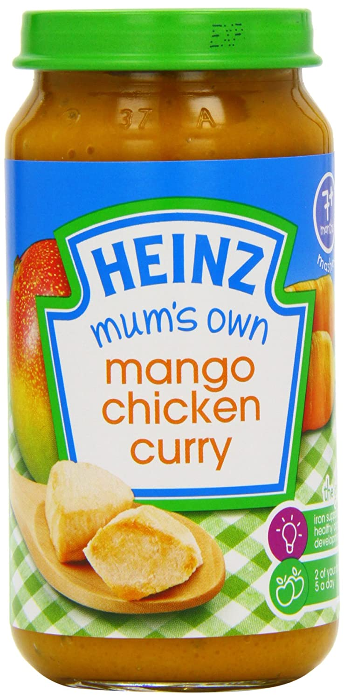 Heinz Mum's Own Very Mild Mango Chicken Curry, 7+ Months, 200 g