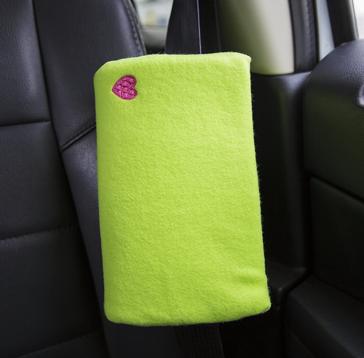 Pillow /& Seatbelt Cushion for Tummie Buddy Lapbelt Cushion for C-section Hernia The Breast /& Chest Buddy or Abdominal Surgery Green With Heart