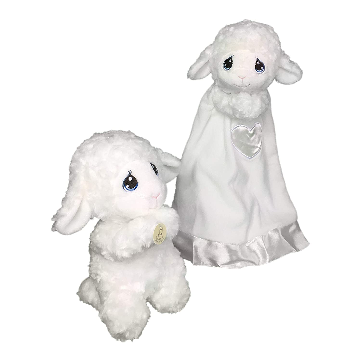 Cuddly Bedtime Praying Animals Plays Now I lay Me Down to Sleep Lamb