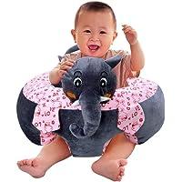 Sana Imported Premium Quality Soft Toy Sofa/Chair for Kids (Size_46cm Grey)
