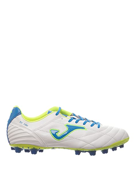 3652b985bdd0c Joma Bota Multitaco Cesped Artificial Fútbol FIT-100 Blanco 9.5  Amazon.es   Zapatos y complementos
