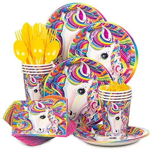 Lisa Frank Neon Pony Standard Kit (Serves 8)