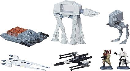 Star Wars Rebels Micro Machines Mandelorian Melee 5 Vehicles 2 Figures