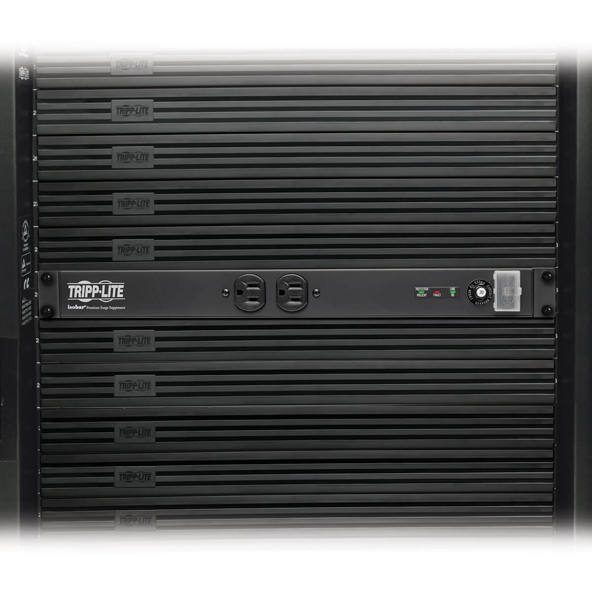 Tripp Lite Isobar 12 Outlet Network Server Surge Wiring Diagram Protector 15 Ft Cord W 5 20p Plug 3840 Joules 1u Rack Mount Metal 25000 Insurance