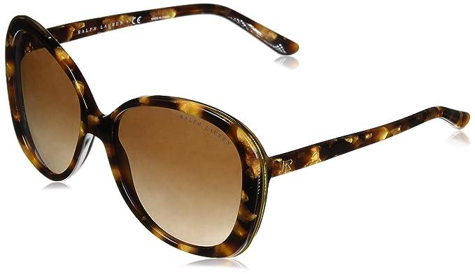 Ralph Lauren 0RL8166, Gafas de sol para Mujer, Havana Gold ...