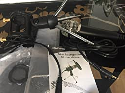 XIAOKOA Profesional PC Micrófono , Micrófonos Plug & Play
