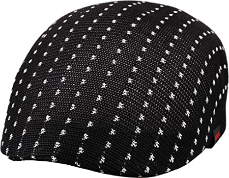 sujii BWML Malla de respiración de aire Newsboy Beret boina Cabbie Hat  sombrero de cabbie Hunting 79c197b8319