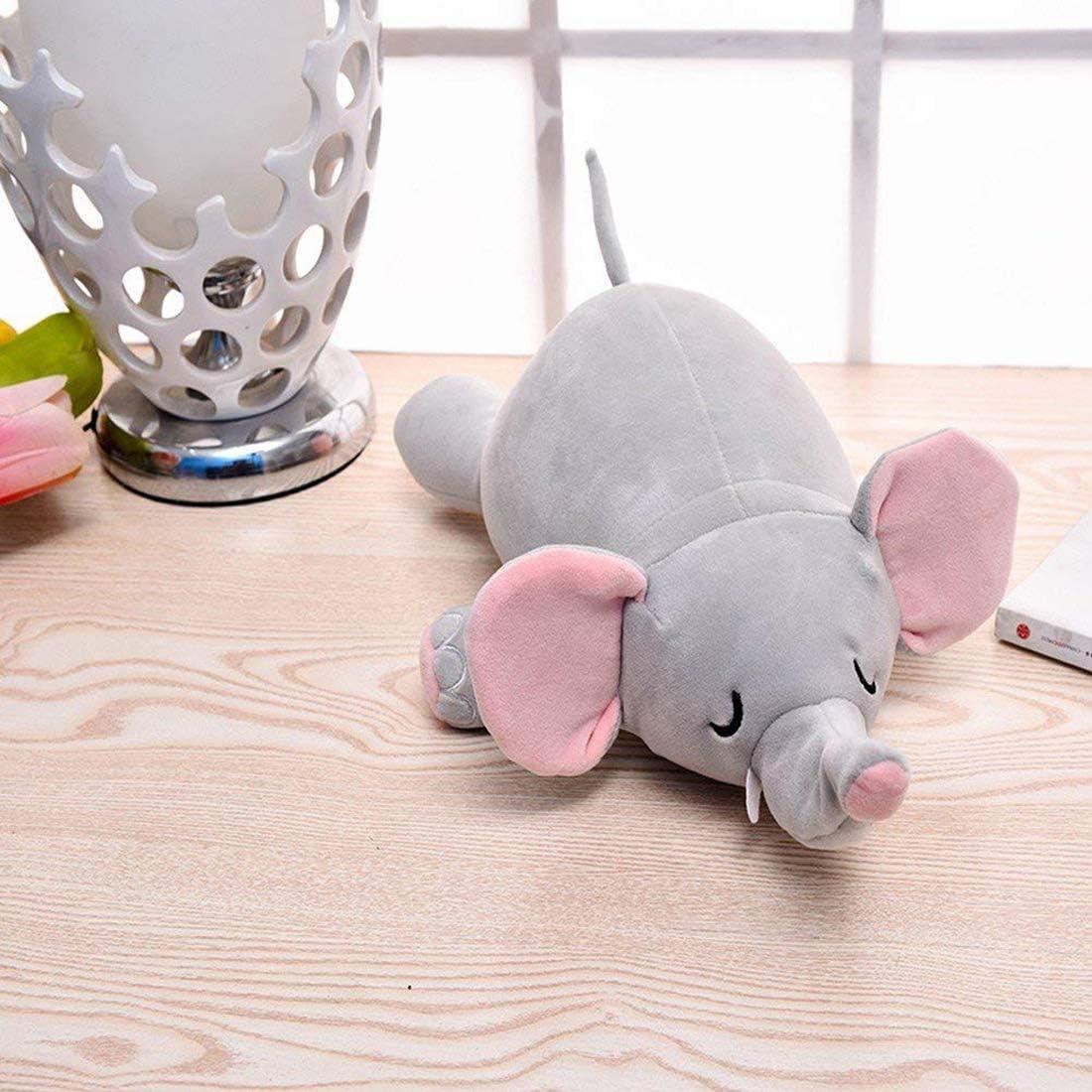 Yuccer Reisekissen Memory Foam Flugzeug Neck Pillow f/ür Reisen B/üro und Zuhause Nackenkissen mit St/ützender Funktion Nackenh/örnchen Plush Toy Elefant