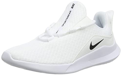 san francisco 7bae5 a6665 Nike Viale, Zapatillas de Running para Mujer, Blanco (White Black 100), 39  EU  Amazon.es  Zapatos y complementos