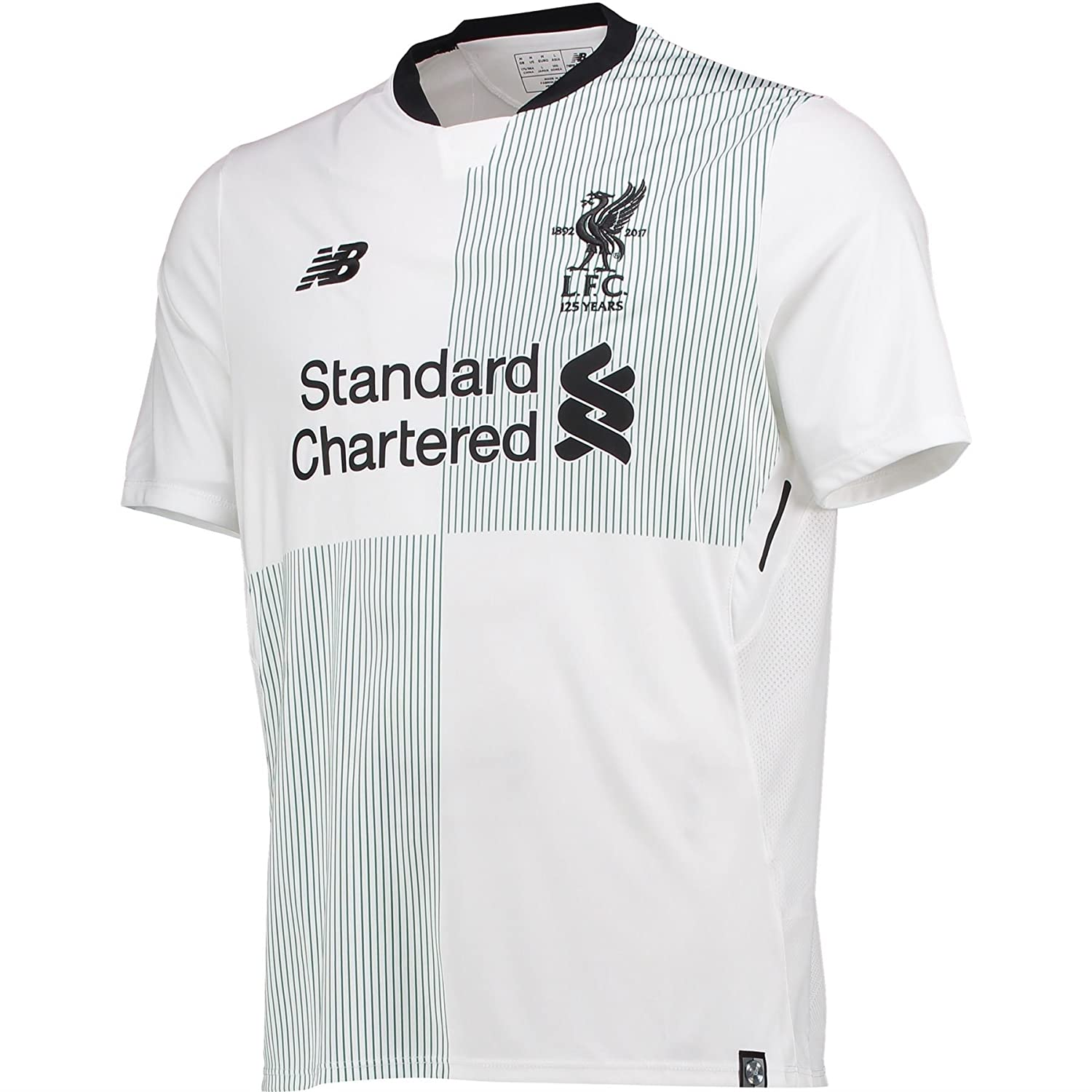 New Balance Liverpool Away Kids Shirt 2017 2018  Amazon.co.uk  Sports    Outdoors d87d63703