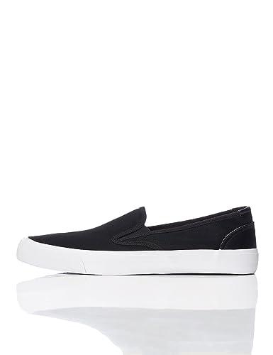 FIND Mens Sneakers Avenue Slip On Black 6 UK 40 EU