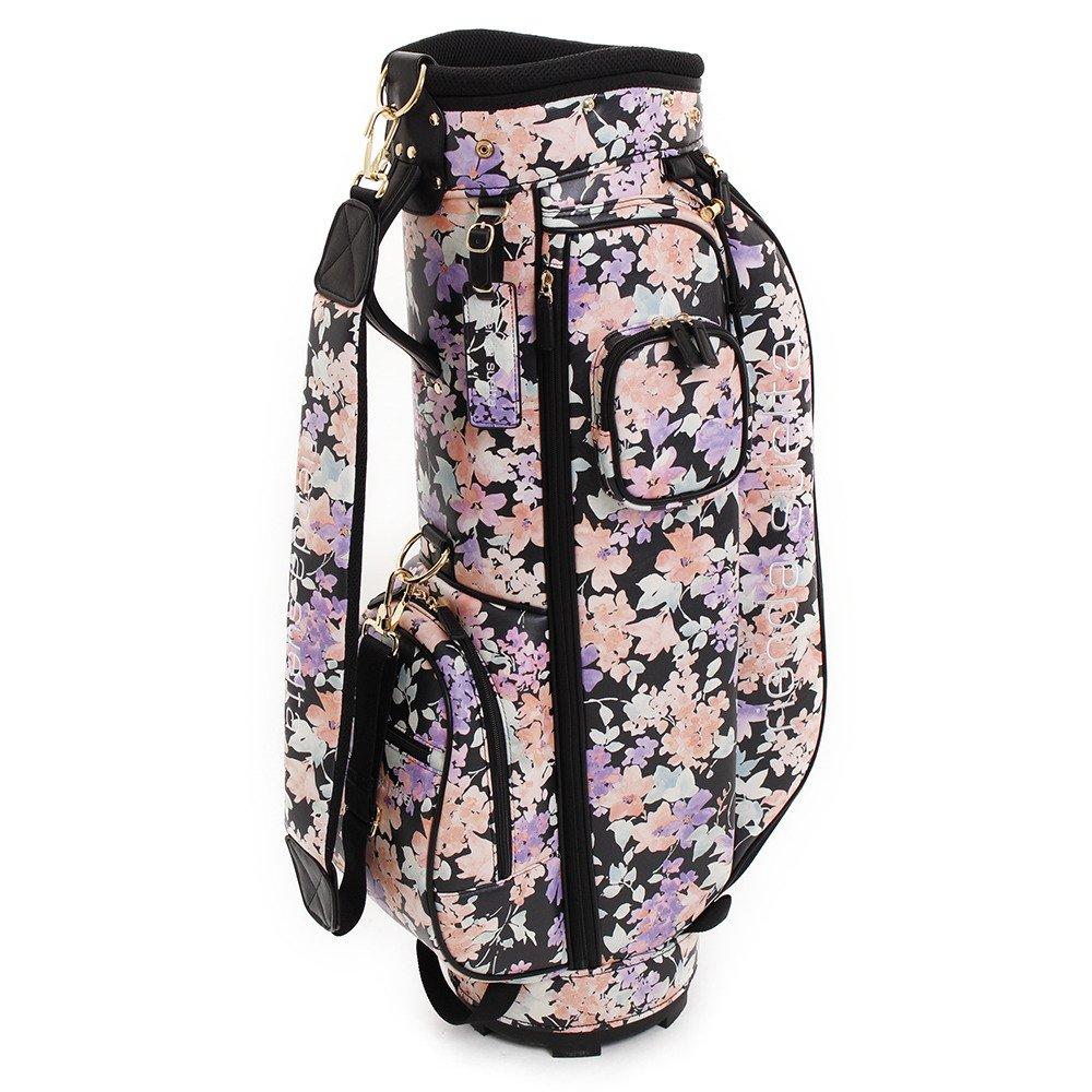 リエンダスエルタゴルフ(Rienda Suelta Golf) キャディーバッグ SPRING FLOWER CADDIEBAG RS-01010011 ホワイト F   B07CCMX371