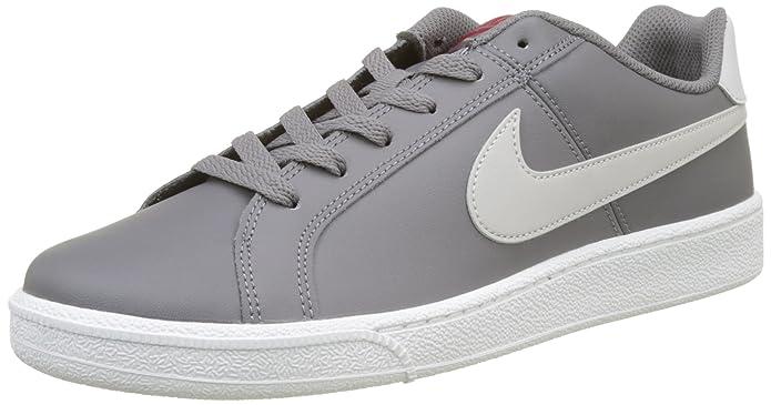 Nike Court Royale Sneakers Herren Grau mit weißen Streifen