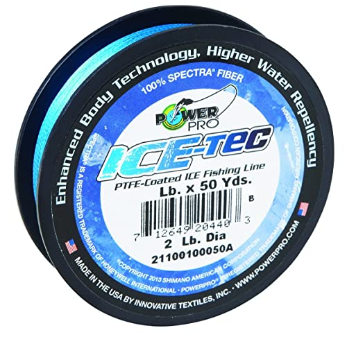 Power Pro 23300080050A Ice-Tec 50-Yard Ice Line