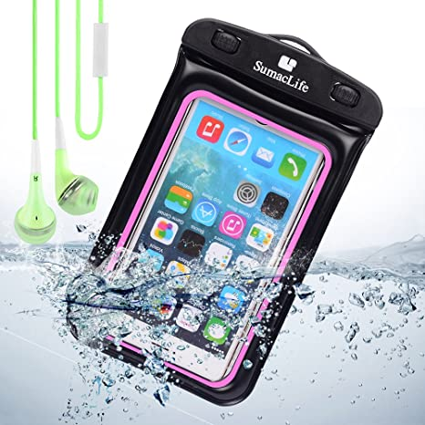 Amazon.com: Negro/Rosa Funda Impermeable Funda para LG G3/LG ...
