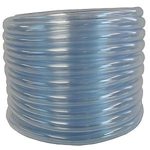 Maxx Flex 1403100050-C HydroMaxx Flexible Non-Toxic, BPA Free Clear Vinyl Tubing, 1