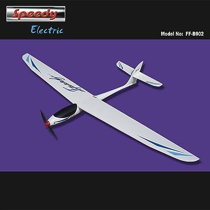 Amazon com: ECHOBBY Speedy Electric Glider 1600mm KIT with Motor