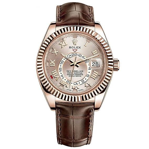 Rolex hombre m326135 – 0004 sky-dweller Sundust reloj