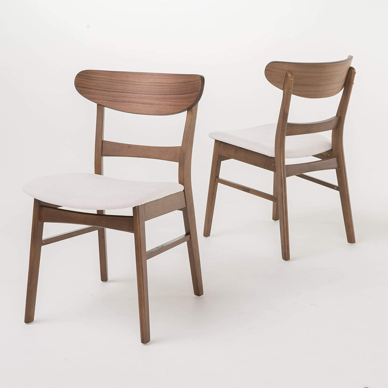 Christopher Knight Home Idalia Dining Chair Set, Light Beige