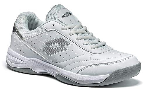 Lotto Court Logo XVI W, Zapatillas de Deporte para Mujer: Amazon.es: Zapatos y complementos