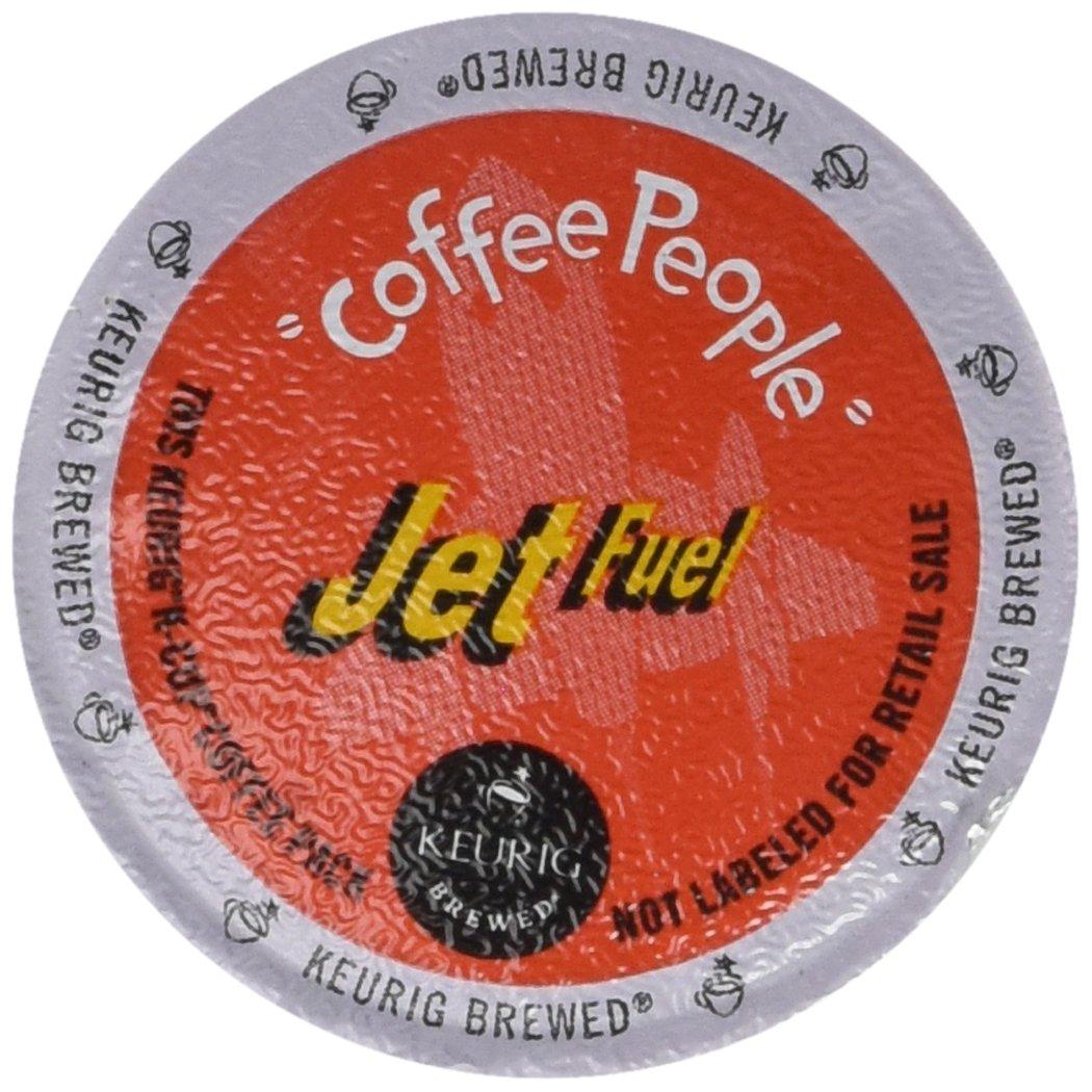 Coffee People XBold Dark Roast, Jet Fuel, 96-Count K-Cups for Keurig Brewers